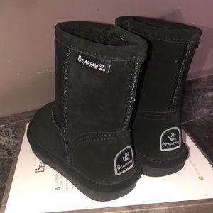 BearPaw toddler black Boots